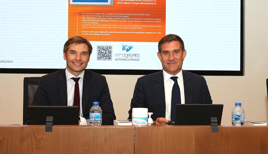 Le numérique, l'Homme et le droit : présentation du 117e Congrès des notaires de France/><img src=